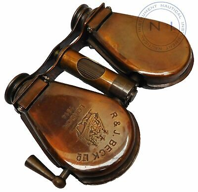 Vintage Style Binocular R&J BECK Maritime London 1914 Collectible Minocular Item