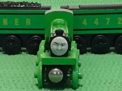 Thomas Friends Wooden Railway Flying Scotsman Engine For Brio Train Toy Set