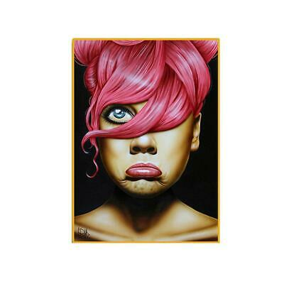 Women Expression Hand Painting Canvas Oil Painted Wall Art Hotel Bar Room Decor