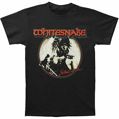 Authentic WHITESNAKE Band Slide It In Logo T-Shirt S M L XL 2XL NEW