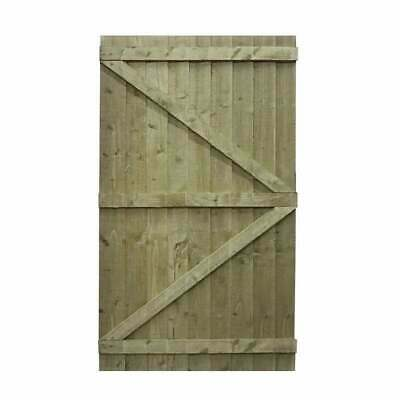 Wooden Bespoke Garden Gate / Tanalised Treated free next day delivery