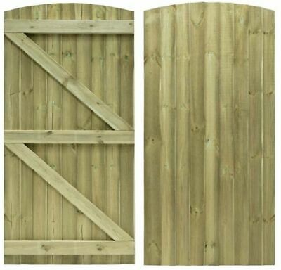 Wooden Bespoke Garden Gate / Tanalised Treated Wood free delivery