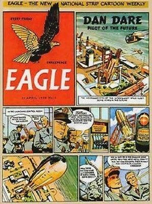 UK COMICS EAGLE DIGITAL COLLECTION OVER 600 COMICS & ANNUALS ON DVD 1950s-60s