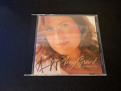 [No Cd!!] Amy Grant Autographed Signed Greatest Hits Cd Booklet Autograph No Coa