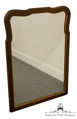 "STATTON Oldtowne Solid Cherry 30x39"" Dresser / Wall Mirror 1912"