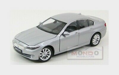 Bmw 5-Series 535I (F10) 2010 Silver Welly 1:24 WE24026S Model