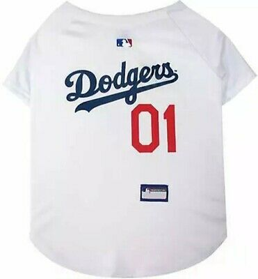 fca7c54f9ab LOS ANGELES DODGERS DOG JERSEY - Pets First - Size SMALL - NWOT ...