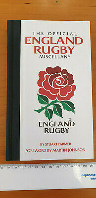 The Official England Rugby Miscellany. Autographed by Rory Underwood.