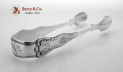 Kings Sugar Tongs Sterling Silver London 1903