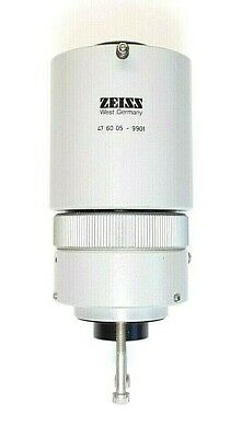 ZEISS MICROSCOPE ADAPTER, 47 60 05 - 9901, with 10X Eyepiece.