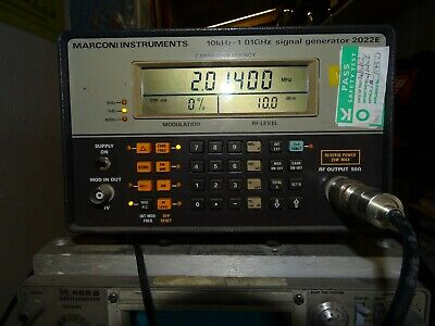 Marconi 2022E Signal Generator, Amateur radio,  Electronics, test equipment