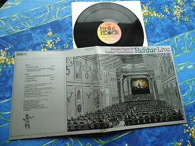 Nektar ♫ Sunday Night At London Roundhouse Live Near Mint ♫ Rare Lp Vinyl