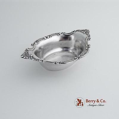 Ornate Nut Cup Scroll Shell Decorations Sterling Silver Gorham Silversmiths 1900