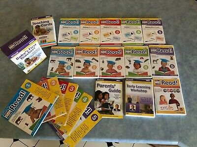 Your Baby Can Read By Robert Titzer, Ph.D. COMPLETE SET-  DVD Books Flash Cards