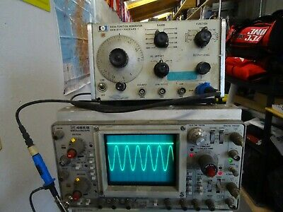 HP 3310A Function Generator, Amateur radio, electronics, Test equipment