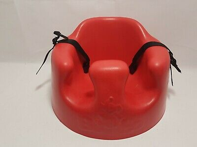 Original Red Bumbo Seat with straps