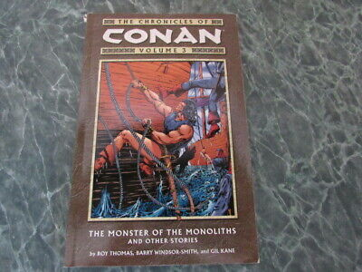 Chronicles of Conan Vol. 3 The Monster of the Monoliths And Other Stories TPB