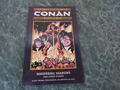 Chronicles of Conan Vol. 13 Whispering Shadows And Other Stories TPB
