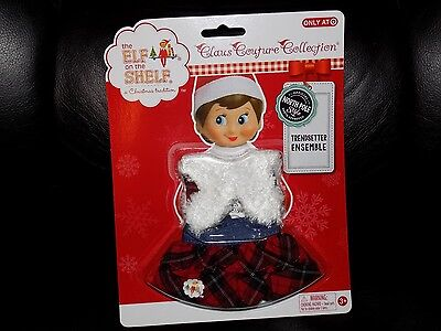 The Elf on the Shelf Claus Couture Collection® Trendsetter Ensemble 2015 HTF