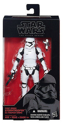 STAR WARS The Black Series_First Order STORMTROOPER 6 inch action figure_New_MIB