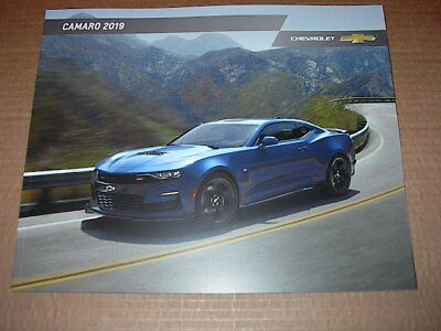 2019 Chevrolet Camaro 44 Page Original Car Sales Brochure  Catalog  New