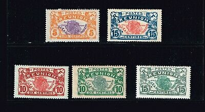 """FRANCE STAMP France & Colonies  """"REUNION"""" stamps Collection Lot  #T1"""