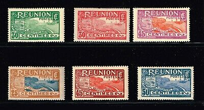 """FRANCE STAMP France & Colonies  """"REUNION"""" stamps Collection Lot  #T2"""