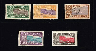 """FRANCE STAMP France & Colonies  """"REUNION"""" stamps Collection Lot  #T3"""