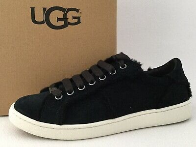 296f7bfcae9 UGG AUSTRALIA MILO SPILL SEAM Suede Lace Up Sneakers US8.5 $110 ...