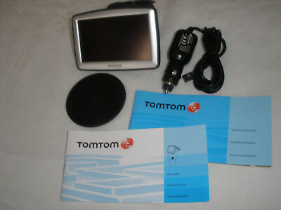 TOM TOM XL GPS N14644 Charger Bundle USB Cable User Guide Tested
