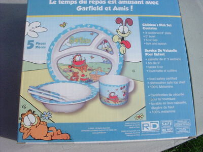 Child's Melamine Dish Set