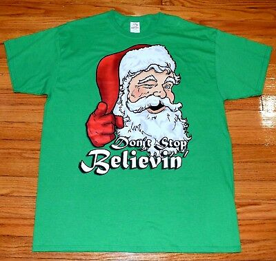 7551ac50 M GREEN NWT SANTA DON'T JUDGE ME BRO t-shirt by MOSSIMO - $19.99 ...