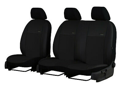 Artificial Leather Universal Front Seat Covers Fits Vauxhall Vivaro Up To 2014