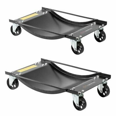 2-Pack Car Garage Service Wheel Dollies 2,000lb Capacity