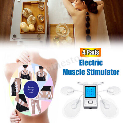 Pro Electrical Stimulation Massage Tens Unit Machine Muscle Therapy Pain Relief