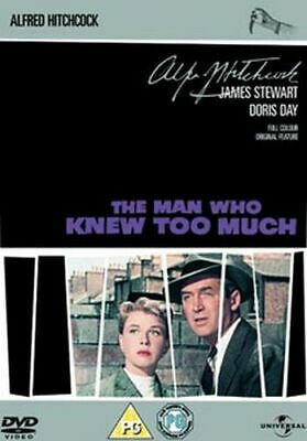 Alfred Hitchcock - The Man Who Knew Too Much Dvd [Uk] New Dvd