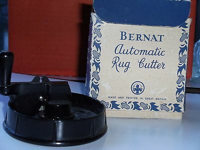 Vintage Bernat Automatic Rug Cutter WITH BOX NO INSTRUCTIONS
