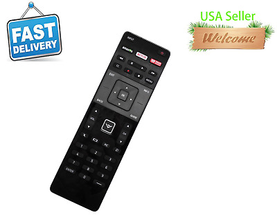 XRT122 Replace for Vizio TV with Amazon/Netflix/iHeart Key (600156T00886G) E70C3