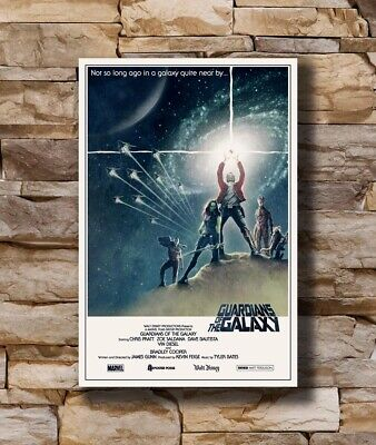 Hot Guardians of the Galaxy Marvel Movie Star Wars New Art Poster 24x36 T-2291