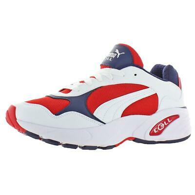 PUMA MENS CELL Viper Red Retro Athletic Shoes Sneakers 11