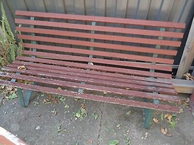 Classic Vintage  Garden Slated Bench