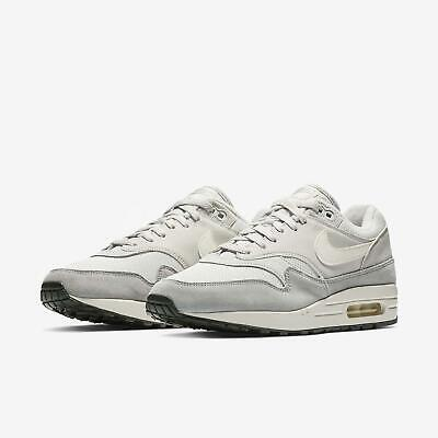 cheap for discount f4f75 a7c54 Nike Air Max 1 Vast Grey Sail Mens NSW Running Shoes Sneakers AH8145-011