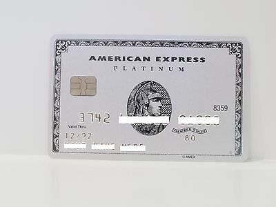 American Express Platinum Card Amex With Chip