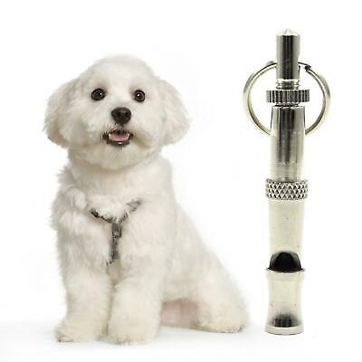 Professional Dog Training Whistle Adjustable Ultrasonic High Pitch Frequency