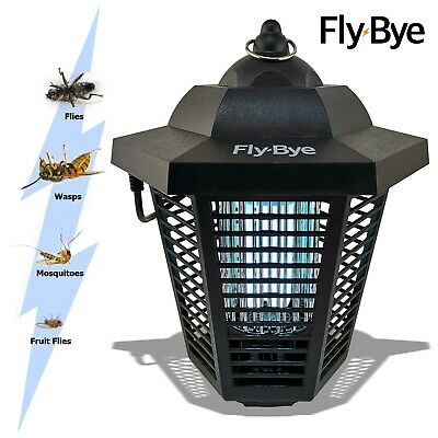 Outdoor Mosquito Fly Bug Insect Wasp Zapper Killer Garden Trap UV Lamp Light