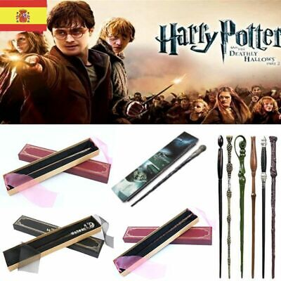 HARRY POTTER MAGIC WAND VARITA HERMIONE GRANGER METAL CORE NÚCLEO DE METAL Wands