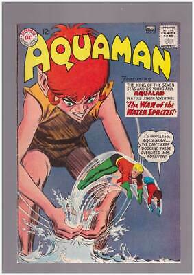 Aquaman # 10  The War of the Water Sprites !  grade 6.0 scarce book !