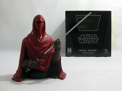 2007 Vintage Star Wars ✧ Royal Guard ✧ Gentle Giant ROTJ Bust MIB