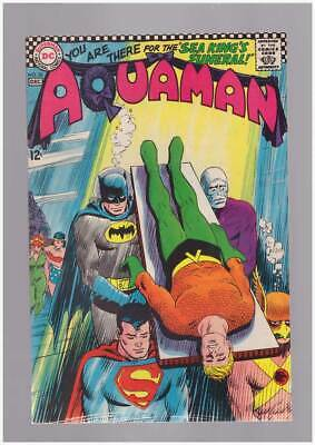 Aquaman # 30  You're there for the Sea King's Funeral !  grade 7.5 scarce book !
