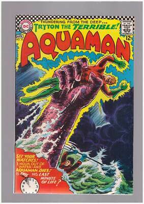 Aquaman # 32  From the Deep...Tryton the Terrible !  grade 9.0 scarce book !